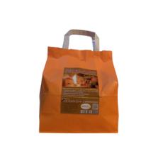 Feuer-Flott (Anzünder) für Kamin, Ofen & Grill, Lagerfeuer usw.  Papiertüte à 1kg (ca. 50 - 58 Würfel)